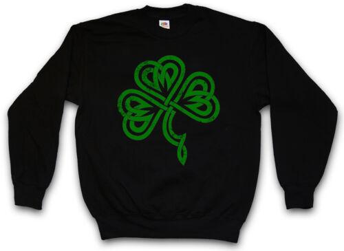 Shamrock Irlanda Trᄄᄄfle Irlanda Iii Irish Pull Kleeblatt Knot Felpa 8nO0kwP