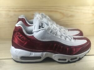 promo code 71dff 560fd Details about Nike Air Max 95 LX NSW Womens Running Shoes Size 6 Red Crush  White AA1103 601
