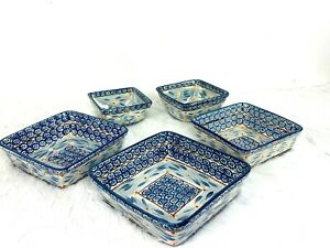 Temptations Tara Old World Blue Casserole Bakeware