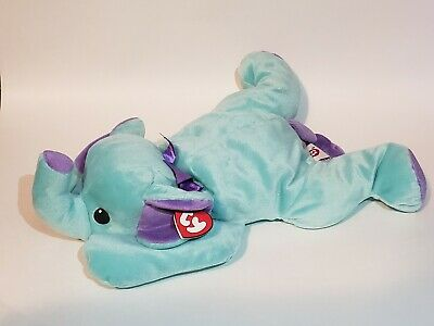 Beanie Baby Pillow Pals Collection Squirt The Elephant