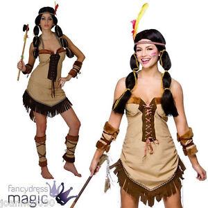 Ladies Native Cherokee Indian Princess Pocahontas Tigerlily Fancy