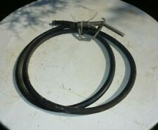 Vintage Gas Fuel Dispensing Nozzle With 12 Foot Hose