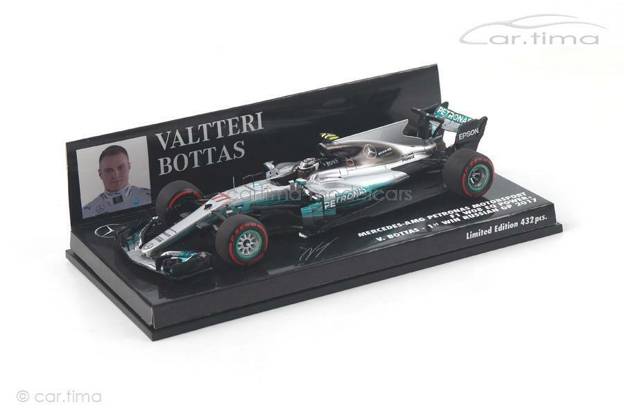 Mercedes f1 w08 eq Power + - Winner Russian gp 2017-Valtteri Bottas-Minichamp