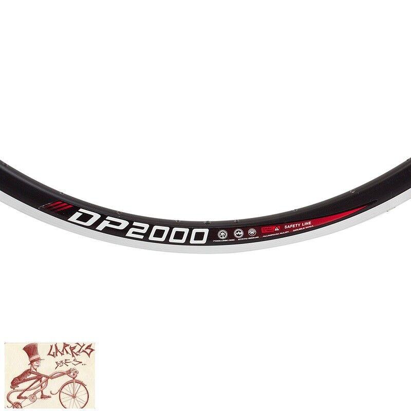 WEINMANN  DP2000 32H --- 700C borde negro de bicicleta  apresurado a ver