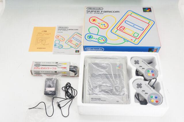 SuperFamicom Console w/Cable & Adapter Bundle VG 422e03