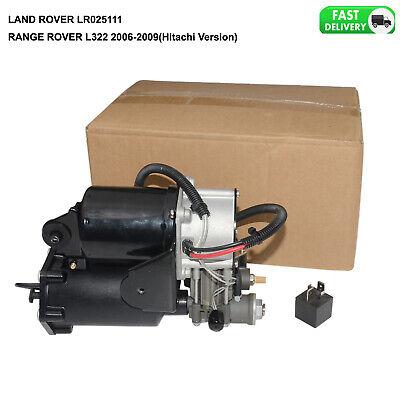 LR025111 LR041777 Fits Range Rover L322 06-09 Hitachi System Air Compressor on