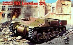 TRC-LORRAINE-37L-ARMOURED-CARRIER-FRANCE-1940-NORWAY-1940-72506-1-72-RPM