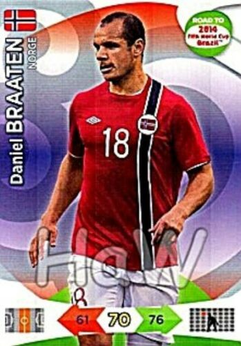 Panini Adrenalyn Road to FIFA World Cup 2014 Brasil-Team Norway
