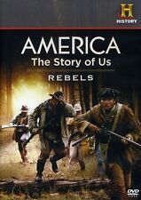 America: The Story of Us, Vol. 1 - Rebels/Revolution (2011, DVD NIEUW)
