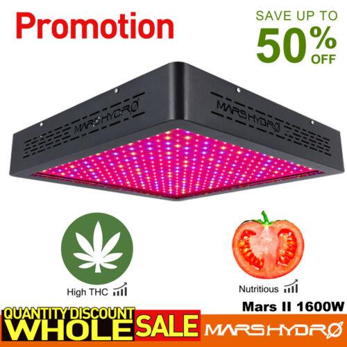 Mars Hydro Mars II 1600W LED Grow Light Pflanzenlampe Blume Gemüse Indoor IR