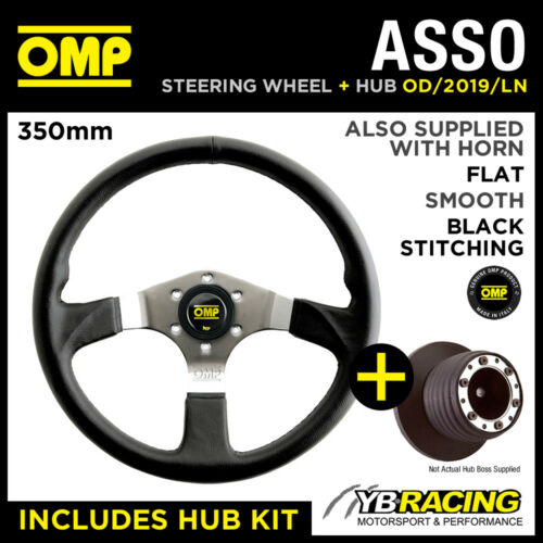 OMP ASSO STEERING WHEEL OD2019LN & HUB COMBO SEAT AROSA ALL 02