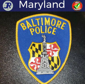 City of Baltimore Maryland Transportation Enforcement Patch DOT  FREE US SHIP