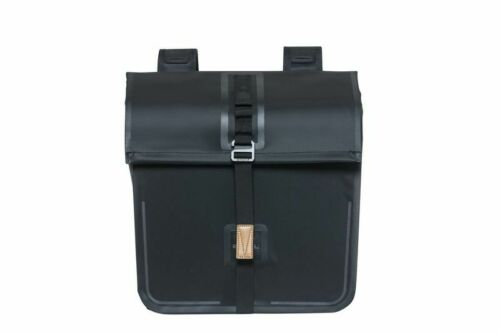 Basil Urban dry Double Bag doble pack bolsa 50 l impermeable negro
