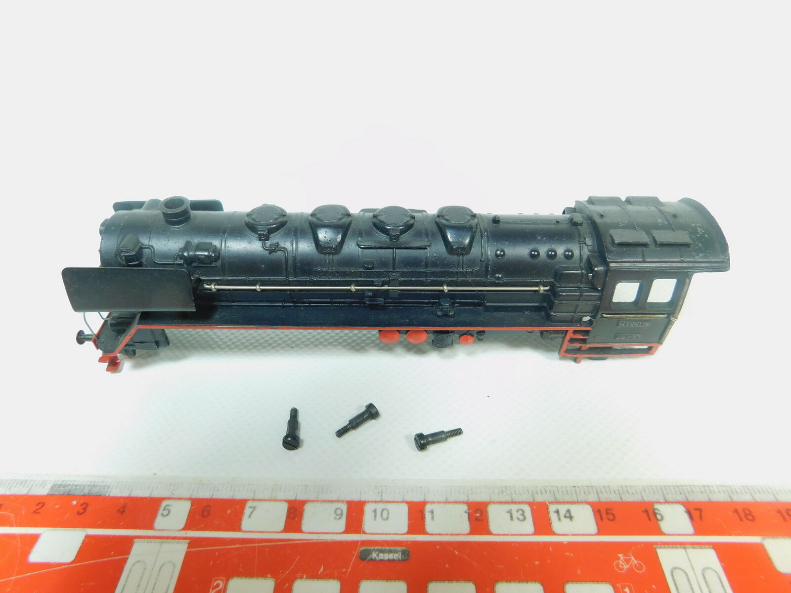 BP556-0, 5  Märklin H0 Cast Iron Casing for 3027 Steam Locomotive   44 690
