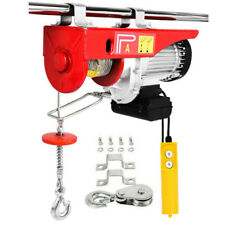 New Listing2200lbs Electric Wire Hoist Winch Engine Crane Lift 40ft Wired Remote Control