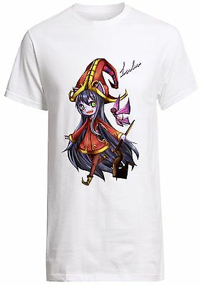 League Of Legends Lulu shirt Yasuo gnar jax ashe jinx adc mid Custom T-shirt