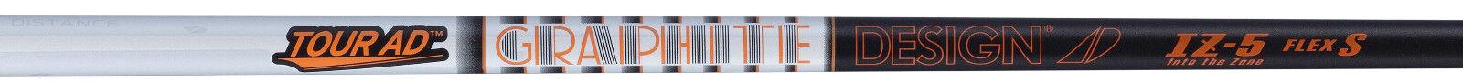 Nuevo Diseño De Grafito gira Ad IZ-5 Eje rígido de la flexión del controlador de grafito con punta de .335