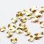 7mm 2020C-F-534 200 Pieces Raw Brass Waved Disc