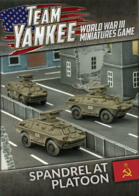 Spandrel Anti-tank Platoon Battlefront Miniatures