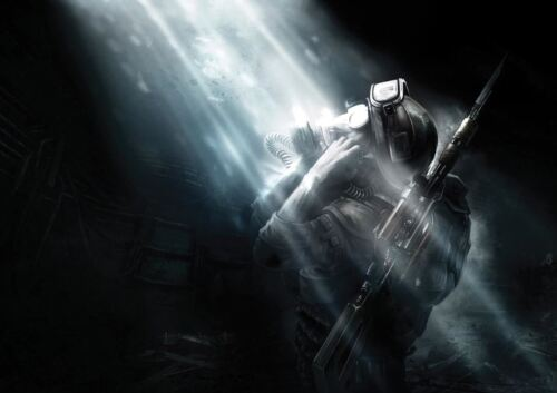 METRO LAST LIGHT VIDEO GAME A3 ART PRINT POSTER YF5347