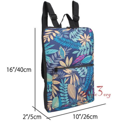 Canvas Sleeve Slim Case School Backpack 15/'/' Laptop Macbook Bag Travel Rucksack