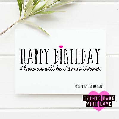 Details About Funny Birthday Card