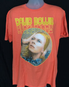 david bowie t shirt ebay