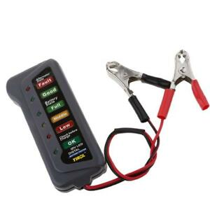 Tester-Batteria-12V-LED-Controllo-Carica-Sovraccarico-Per-Auto-Moto