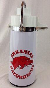 Vintage Arkansas Razorbacks 2 Qt Large Steel Pump Action Coffee ...