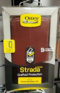 OtterBox-STRADA-Leather-Wallet-Case-for-Samsung-Galaxy-S6-CHIC-REVIVAL-28D