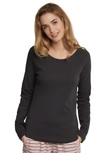 SCHIESSER Damen Mix & Relax Shirt Langarm T-Shirt Gr S M L ...