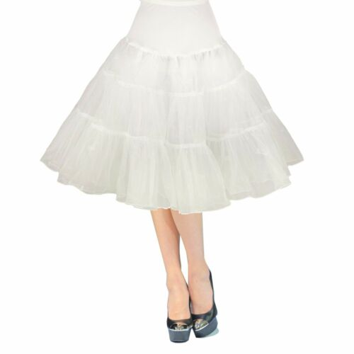 Tutu Vintage 26/'/' 50s Petticoat Crinoline Underskirt Rockabilly Swing Skirt Slip