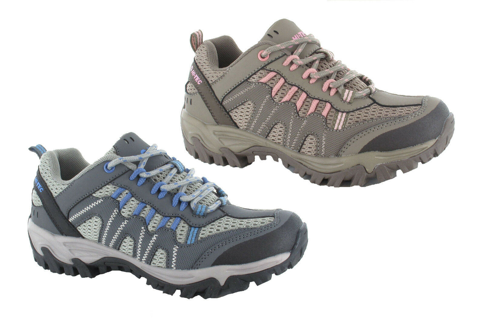 Hi-Tec Jaguar Womens Walking Outdoor Comfort Trail Trainer 2 Colours UK4-8