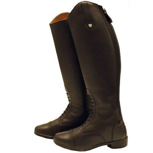 New Horseware Ladies Leather Field Boots 37 6  Brown  save up to 70% discount