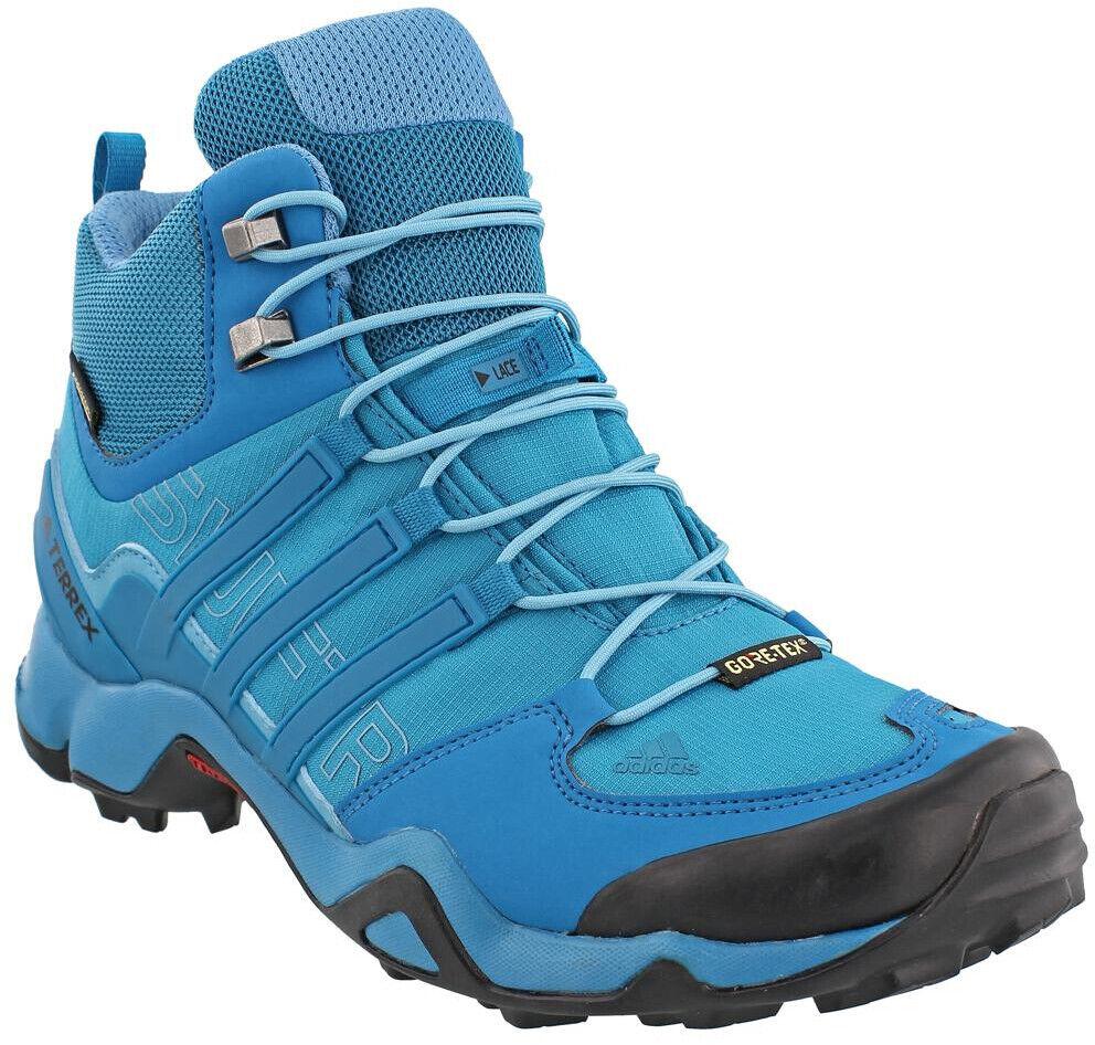 Adidas Terrex Swift R Mid damen Hiking Stiefel - Blau