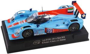 Slot-It-034-Gulf-034-Lola-B12-80-2012-24hr-Le-Mans-1-32-Scale-Slot-Car-CA39B