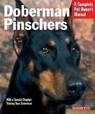 Doberman Pinschers (Barron's Complete Pet Owner's Manuals)-ExLibrary