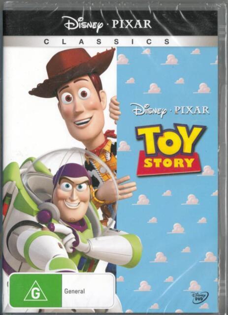 TOY STORY - DISNEY PIXAR - NEW & SEALED REGION 4 DVD FREE LOCAL POST