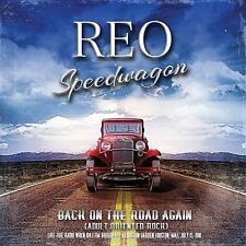 REO SPEEDWAGON - BACK ON THE ROAD AGAIN (LIVE RADIO BROADCAST 1981)  2 CD NEW+