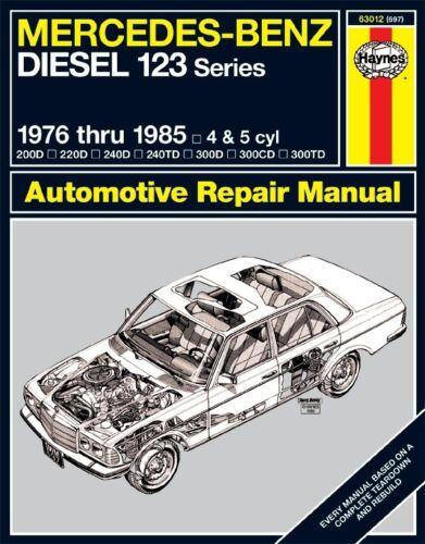Repair Manual-Base Haynes 63012