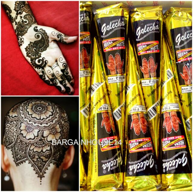 Henna Tattoo Cones For Sale: Wholesale White Color Temporary Tattoo Super Fast Henna
