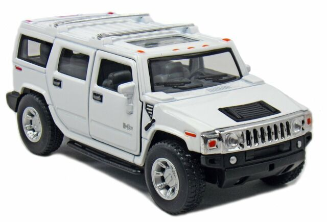 Kinsmart 2008 Hummer H2 Suv 1 40 Scale 5 Cast Model Car Brand New