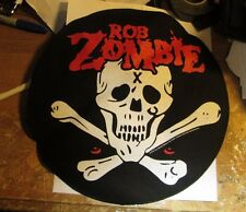ROB ZOMBIE COLLECTABLE RARE VINTAGE BACKPATCH BACK PATCH 2012 WHITE ZOMBIE