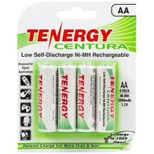 Tenergy Centura AA Low Self-Discharge (LSD) NiMH Rechargeable Batteries, 1 Card