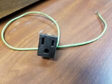 ANTIQUE DIXIE RANGE 125VAC 15A OUTLET/RECEPTACLE WITH GROUND - APPLIANCE PARTS