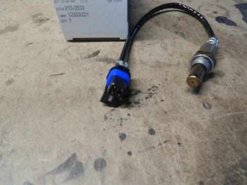 Oxygen Sensor Heated New Genuine GM 12589321 Canyon Silverado Sierra Colorado