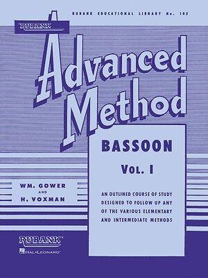 1 Advanced Band Method New 004470430 Jade White Rubank Advanced Method Bassoon Vol Wind & Woodwinds