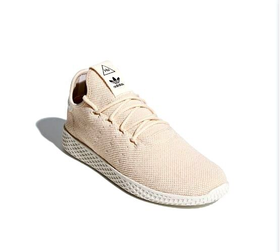 Adidas Pharrell Williams PW Tennis HU  Linen   Chalk White Size 11 US AC8699