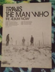 Travis-Tour-The-man-who-1999-press-advert-Full-page-29-x-37-cm-poster
