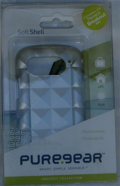 Pure Gear Protect Soft Shell Case for Pantech Breakout 8995 - BRAND NEW